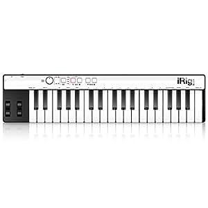 【日本正規代理店品・保証付】IK Multimedia iRig KEYS with Lightningケーブル (MIDIコントローラー・キーボード) IKM-OT-000022a