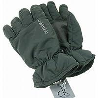 CK Calvin Kleinカルバンクラインメンズ男性用防寒スキー手袋グローブ(ブラック)S/M【並行輸入品】 [ウェア&シューズ]