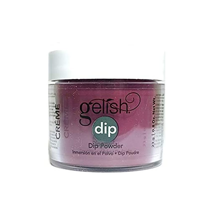 浮くヘビーだますHarmony Gelish - Dip Powder - Love Me Like A Vamp - 23g / 0.8oz