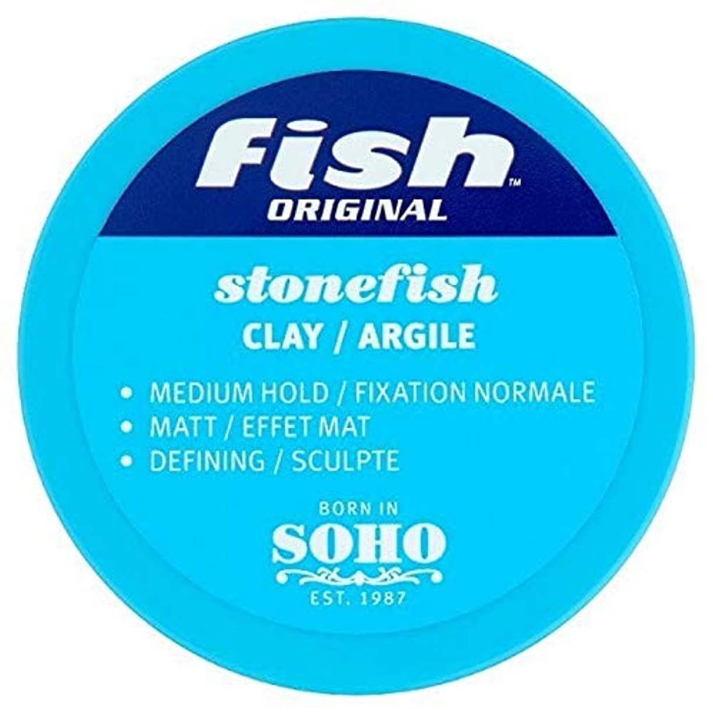 ばか部族合体[Fish Soho] 魚本来のオニダルマオコゼマット粘土70ミリリットル - Fish Original Stonefish Matt Clay 70ml [並行輸入品]