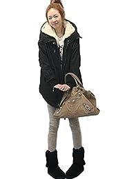 (ミズミス) Ms.Miss レディース アウター モッズ コート ファー ミリタリーコート ジャケット 裏起毛 フード付き