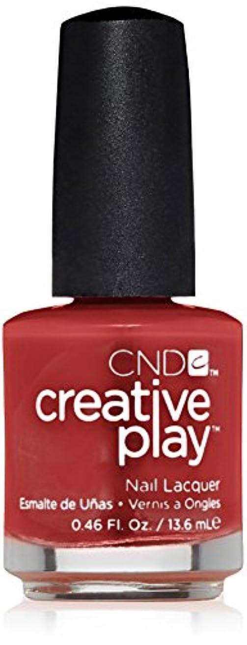 成人期時折研磨剤CND Creative Play Lacquer - On a Dare - 0.46oz / 13.6ml