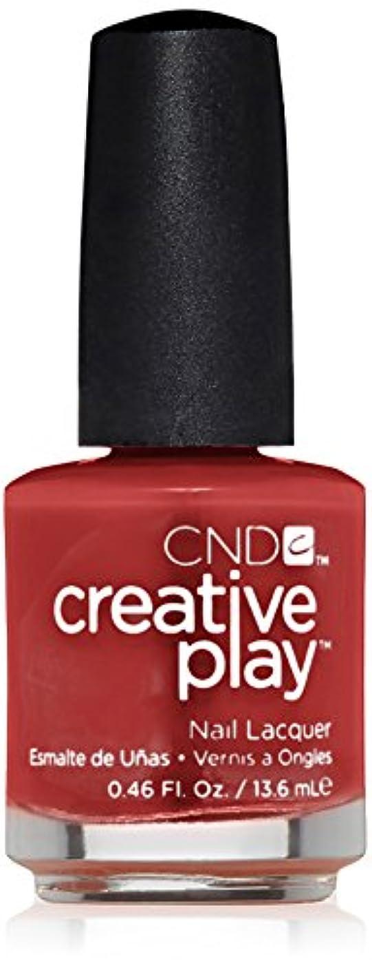 いじめっ子溶けた姿勢CND Creative Play Lacquer - On a Dare - 0.46oz / 13.6ml