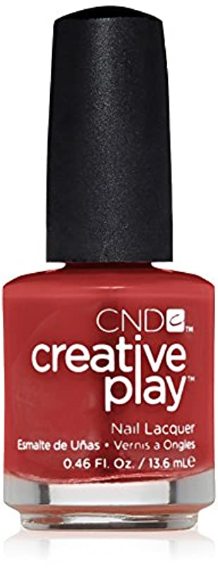 バイアス囲い広いCND Creative Play Lacquer - On a Dare - 0.46oz / 13.6ml