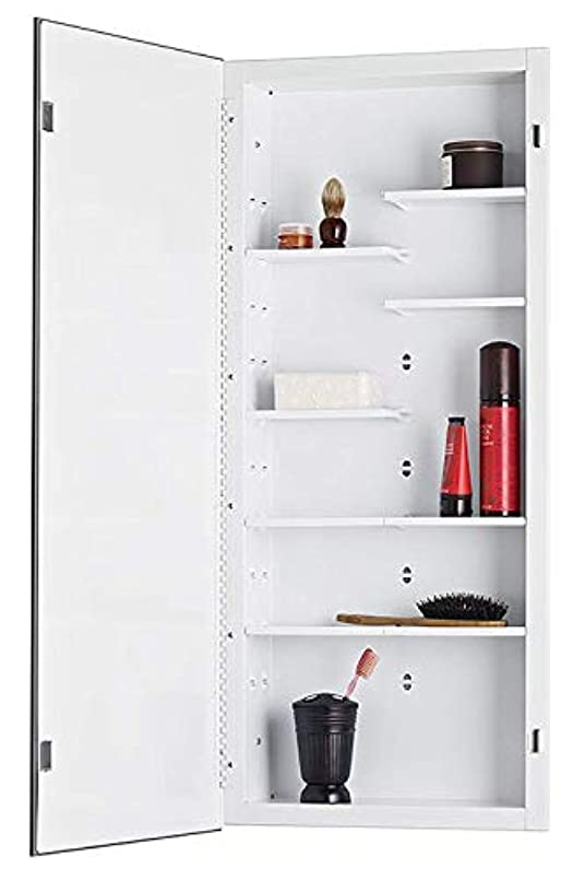 JensenフォーカスMedicine Cabinet with Polishedミラー 16-Inch by 36-Inch 835P34DX 1