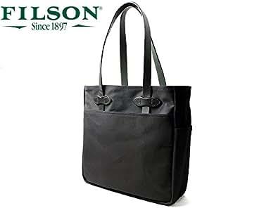 (フィルソン)FILSON キャンバス オープントート バッグ ブラック