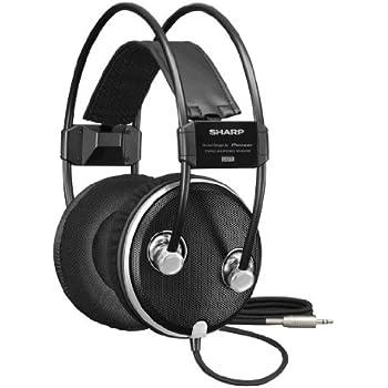 SHARP オープン型ダイナミックステレオヘッドホン VR-HSA100