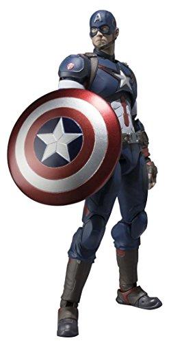 S.H. Figuarts Avengers Captain America about 155mm  ABS & PVC painted figu action  livraison rapide et livraison gratuite sur toutes les commandes