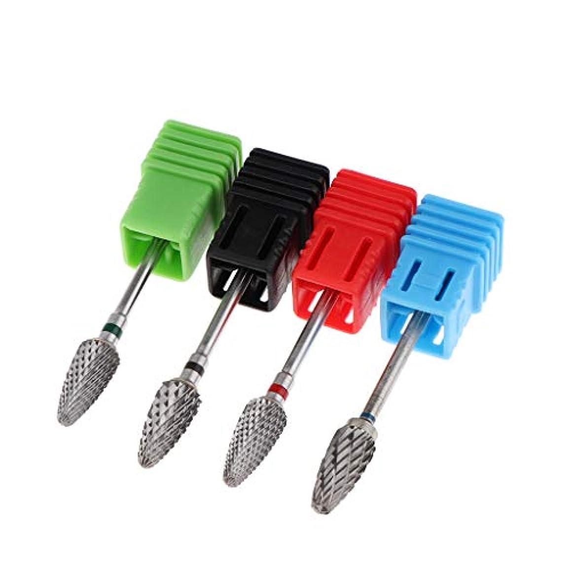 ヘッドレスバーゲン私たちのものToygogo 4サイズM / F/C/XCタングステン鋼合金ネイルファイルドリルビットマニキュアゲル除去電動研削ヘッドセット