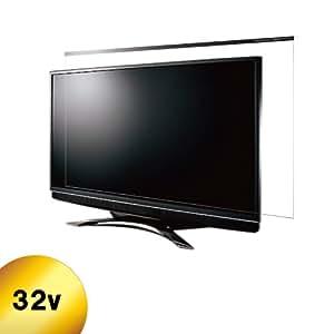 NIDEK 液晶テレビ保護パネル32型 反射防止付レクアガード  C2ALG7203202066