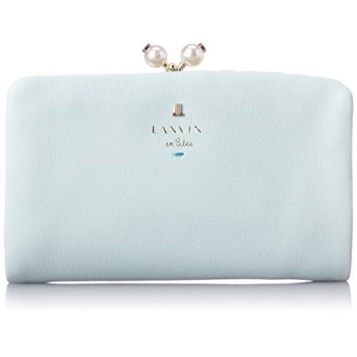 [ランバンオンブルー] LANVIN en Bleu シャペル 二つ折り財布 480723 73 (ミント)