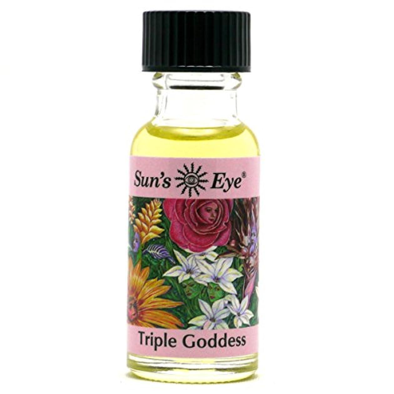スイッチ鉄道駅脱走【Sun'sEye】Specialty Oils(スペシャリティオイル)Triple Goddess Oil(トリプルゴッデス)