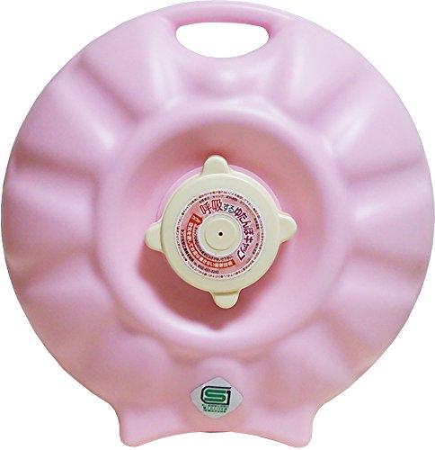タンゲ化学工業 湯たんぽ 立つ湯たんぽ ピンク 1.8L 美...