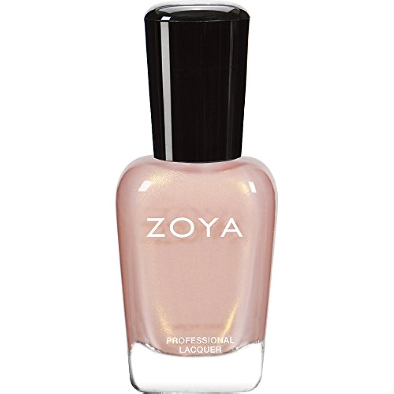 敬礼動脈寄生虫ZOYA ゾーヤ ネイルカラーZP445(ERIKA) エリカ 15ml ゴールドがきらめくガーリーなベビーピンク パール/メタリック 爪にやさしいネイルラッカーマニキュア