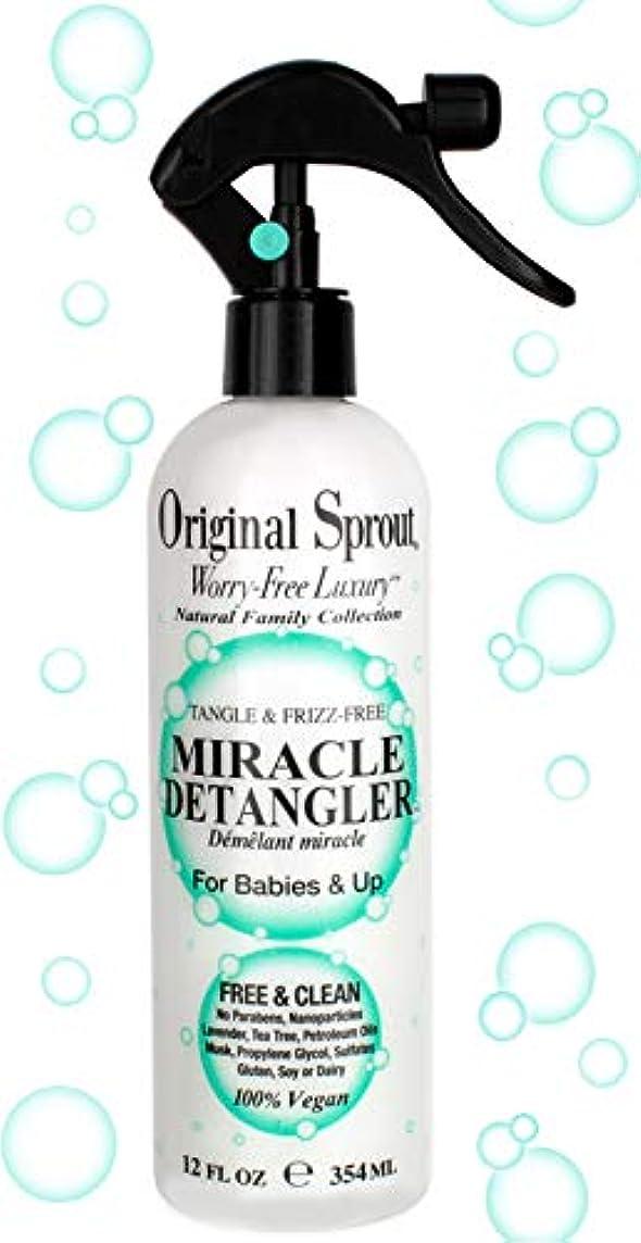 傷跡バンド舗装Original Sprout Natural Family Collection Miracle Detangler (For Babies & Up - Tangle & Frizz-Free) 354ml/12oz...