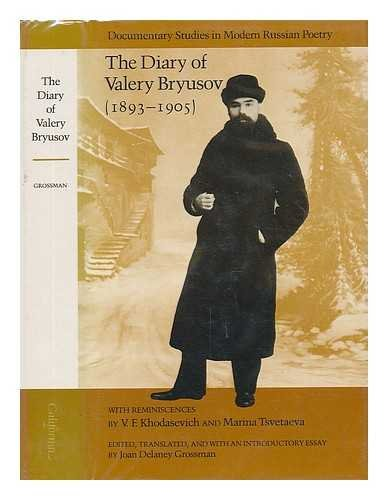 Download Diary of Valery Bryusov, 1893-1905 (Documentary Studies in Modern Russian Poetry) 0520038584