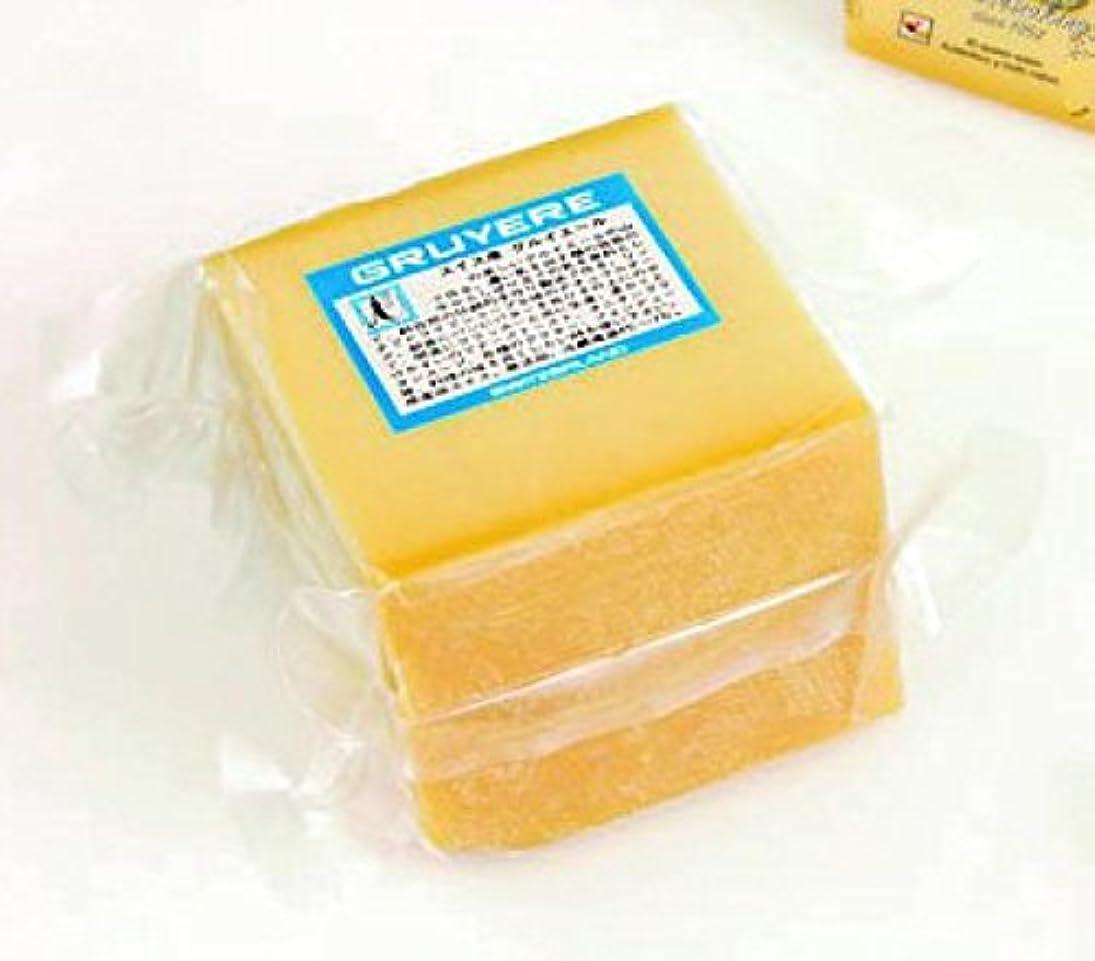 ひいきにする密接に凍った三祐 スイス産 AOCグリュイエールチーズ 1kgカット