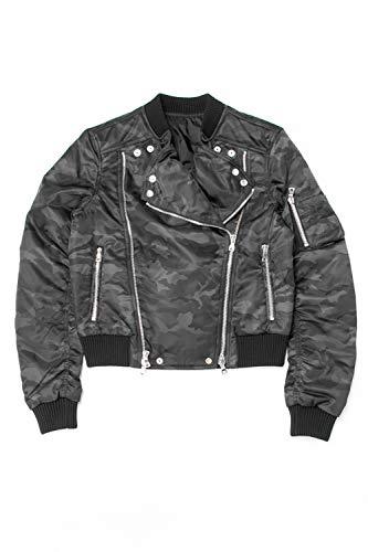 (バルマン) BALMAIN ライダースジャケット 迷彩 メンズ (W8H 2115 T369) 【並行輸入品】