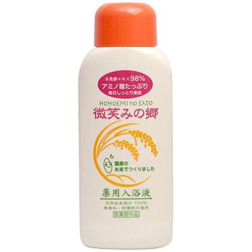 微笑みの郷 薬用入浴液 600ml [医薬部外品]
