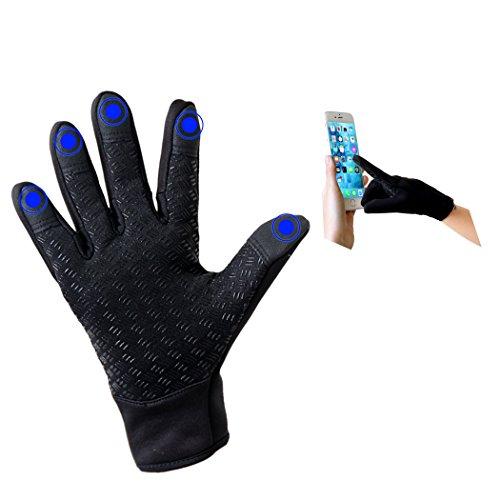 LIXIA 改良版 サイクリンググローブ 全指 スマホ対応 手袋 スポーツ アウトドア