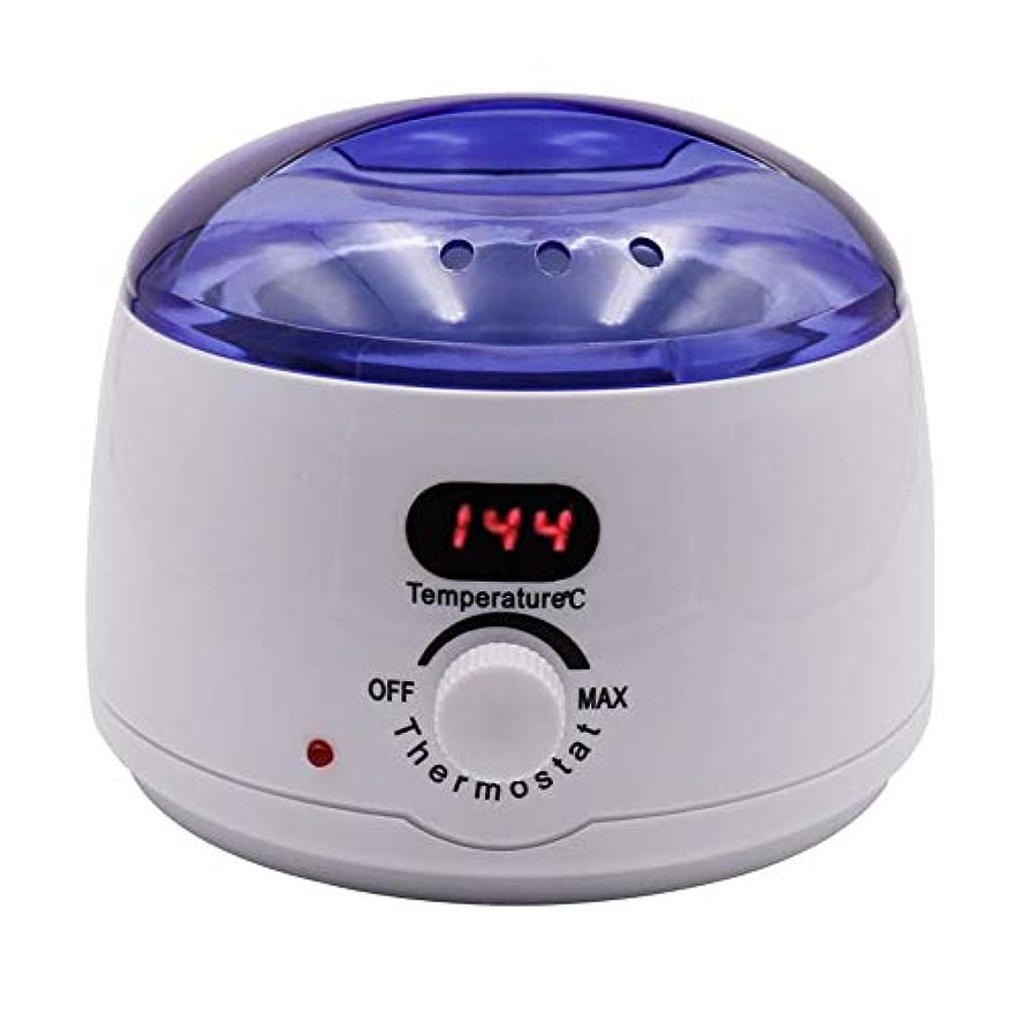 少数ネックレット影のある脱毛、デジタル表示温度メルティングワックスポットインテリジェント加熱多機能ホームワックスマシン女性/男性500CCのための専門の電気ワックスウォーマーヒーターメルター