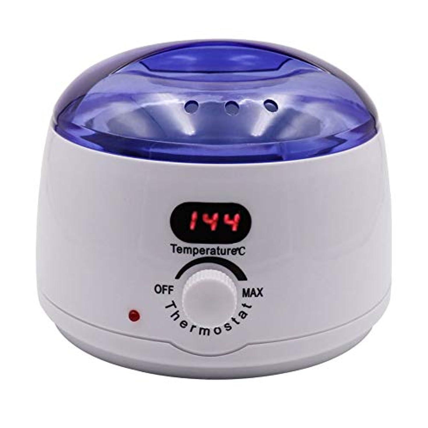 レーザ割合ロッド脱毛、デジタル表示温度メルティングワックスポットインテリジェント加熱多機能ホームワックスマシン女性/男性500CCのための専門の電気ワックスウォーマーヒーターメルター
