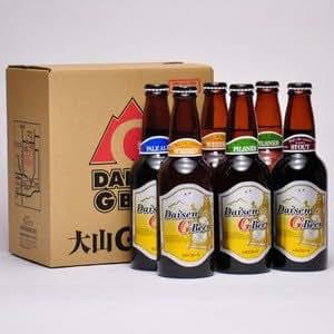 大山Gビール 330ml 6本セット 要冷蔵 鳥取 地ビール プレゼント用におすすめ