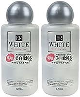 【2個セット】ダイソー ER ホワイトニングローションV(薬用美白化粧水)プラセンタエキス配合 120ml