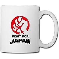 Typhoon KAORI おしゃれマグカップ 食器コップ Mug Cup 努力 ファイティング 日本応援 観戦グッズ Fight勢い Japan Love ジャパンラブ