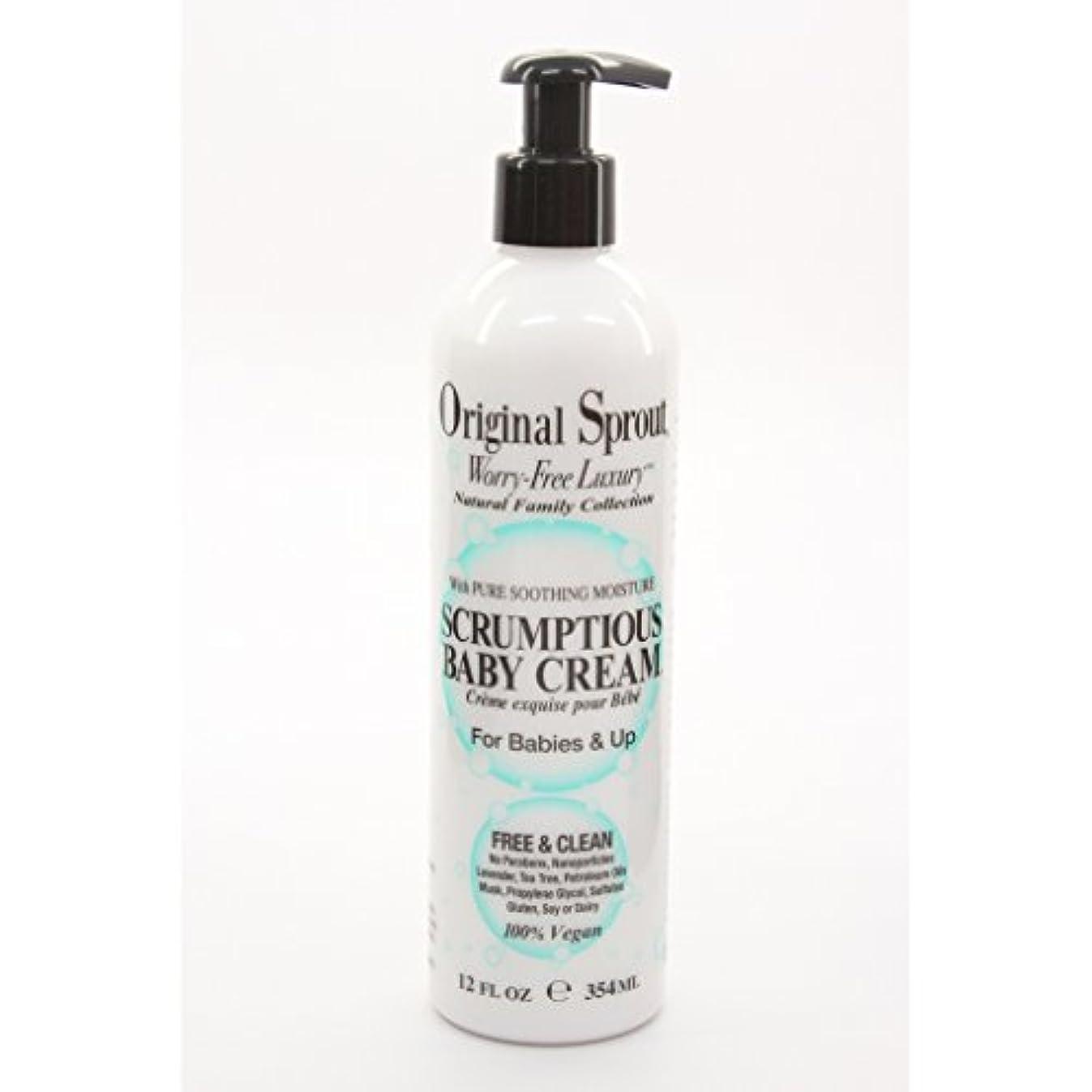 気がついて静的満州Original Sprout Inc, Scrumptious Baby Cream, For Babies and Up, 12 fl oz (354 ml) by Original Sprout [並行輸入品]