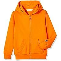 Kid Nation Kids' Soft Brushed Fleece Zip-Up Hooded Sweatshirt Hoodie for Boys or Girls,Age (4-12Years)