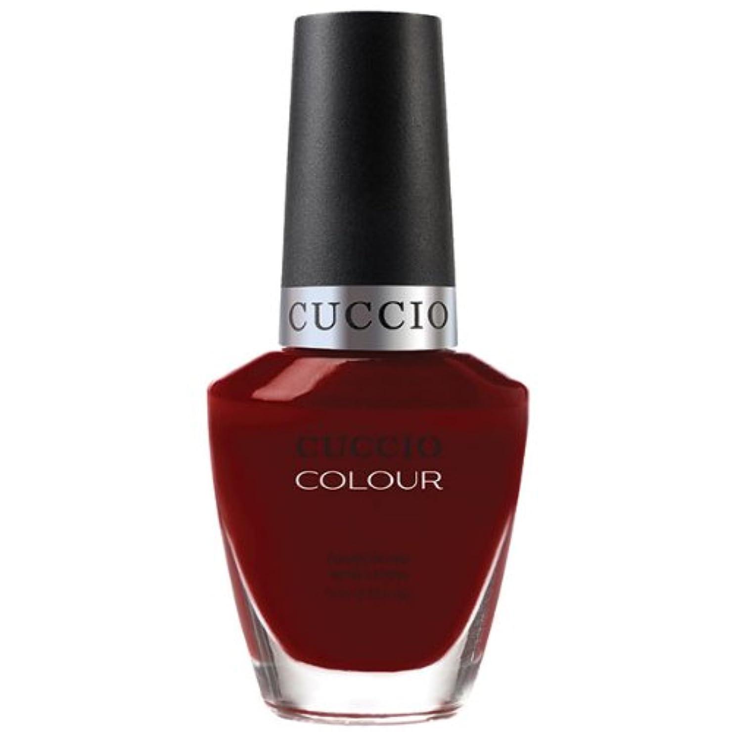 肺炎ふける種Cuccio Colour Gloss Lacquer - Red Eye to Shanghai - 0.43oz / 13ml