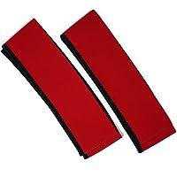 車いす用タイヤカバー ホイルソックス (中 (20~22インチ用), 赤)