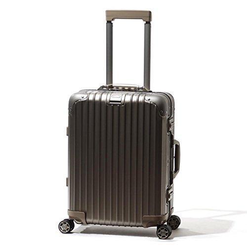 (リモワ) RIMOWA スーツケース TOPAS TITANIUM CABIN MULTIWHEEL 52 トパーズ チタニウム キャビン 34L [並行輸入品]