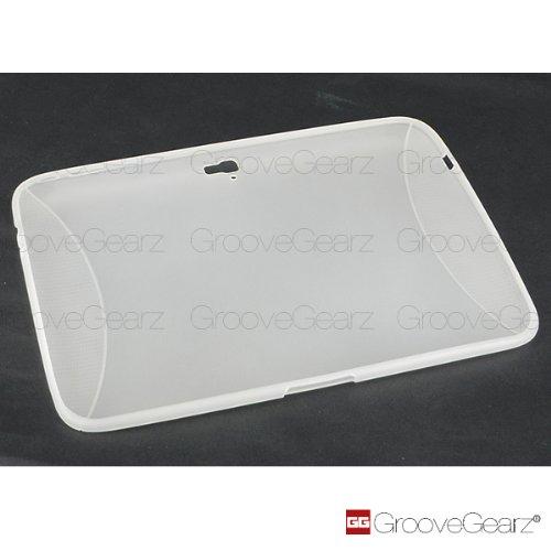 【Groove Gearz】Google タブレットPC NEXUS10 専用 TPUカバー カラー:ミルクホワイト