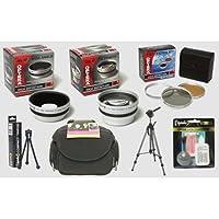 Canon PowerShot a650isデジタルカメラhd2プロフェッショナルアクセサリーキット