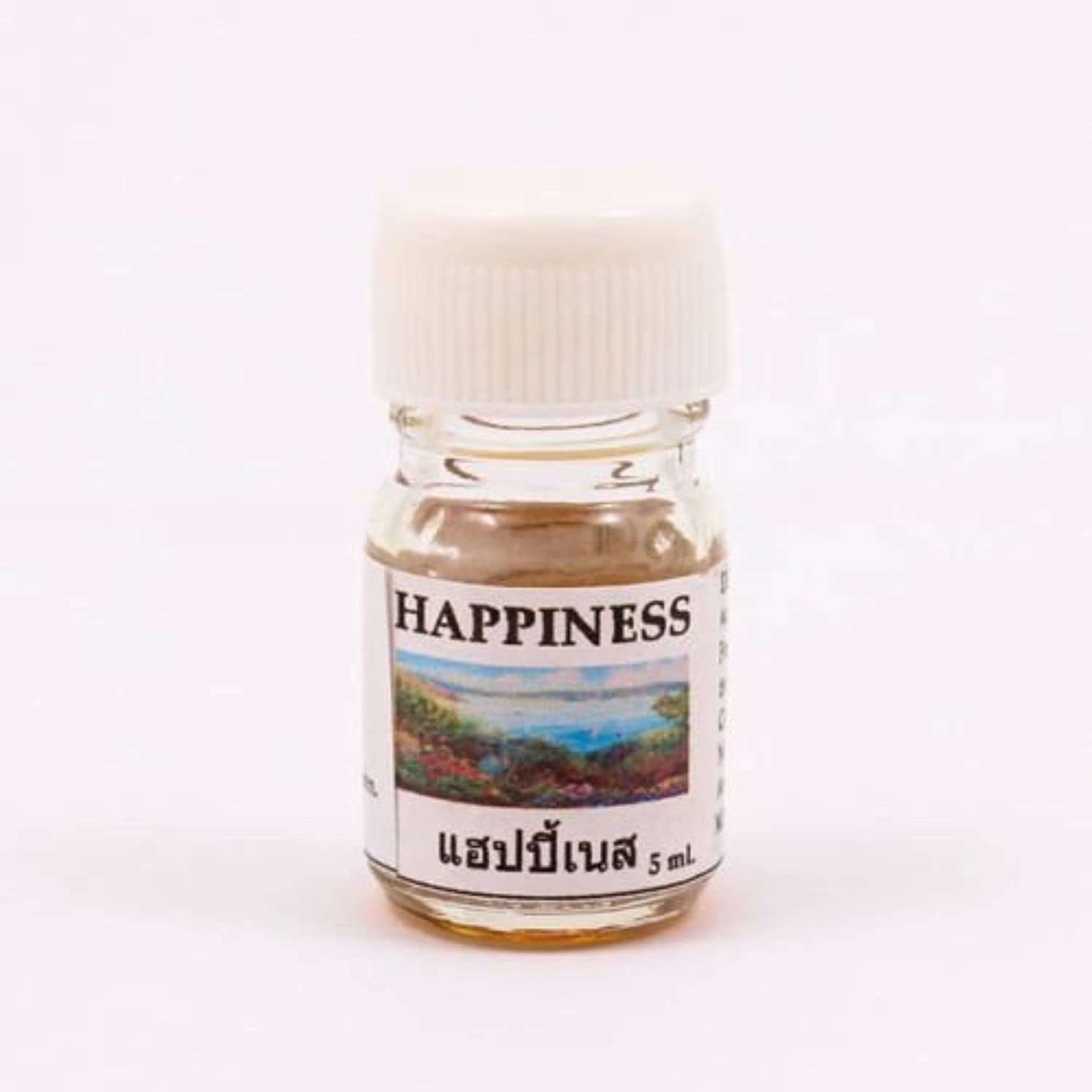ジャンプ義務づける偶然6X Happiness Aroma Fragrance Essential Oil 5ML. cc Diffuser Burner Therapy