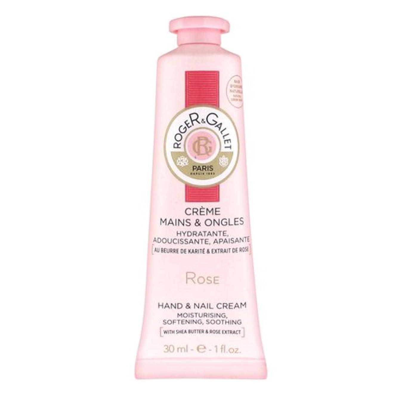 ロジェガレ ローズパフューム ハンドクリーム 30ml ROGER&GALLET ROSE HANDS&NAILS CREAM [1346] [並行輸入品]
