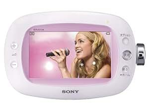 SONY 4型 防水ワンセグ液晶テレビ AM/FMラジオ対応 2GBメモリー搭載  ピンク XDV-W600-PC