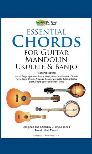 Mandolin movable mandolin chords : Essential Chords for Guitar, Mandolin, Ukulele and Banjo: 2nd Ed ...