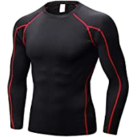 TIANYUTU Quick Dry Compression Shirt Fitness Gym Running Shirt Men Long Sleeve Man's T-Shirt Bodybuilding Sport Gym Shirt Male Rashguard