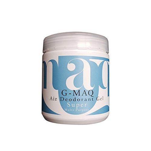 G-MAQ(ジーマック) 高性能 強力消臭剤 置き型 消臭ジェル super 190ml...