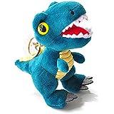 キーホルダー キーチェーン 人形キーリング バックチャーム 可愛い 萌え ふわふわ 垂れ飾り 人形 恐竜