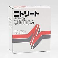 ニトリート(NITREAT) コットンテープ 綿粘着包帯(メッシュタイプ・白色)25mm 12巻入 CB-25