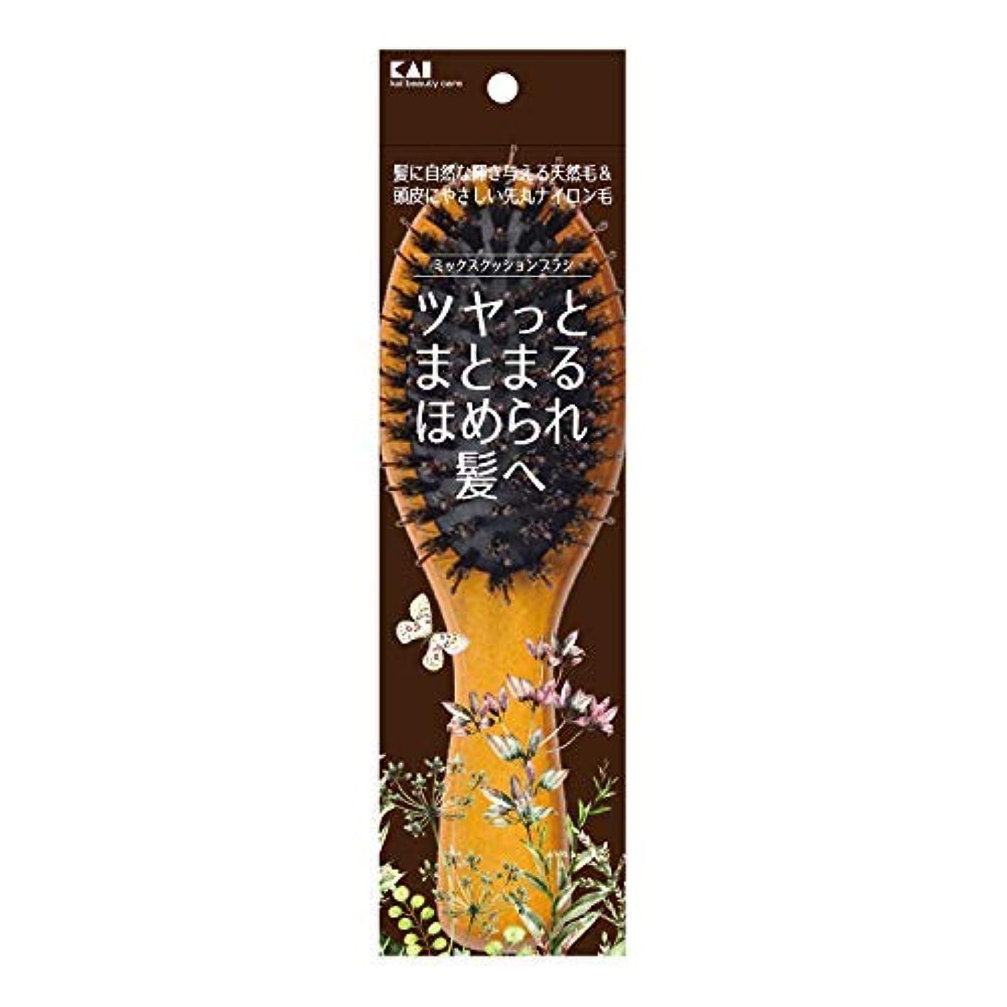 種びんバターKQ3159 ミックスクッションブラシ × 12個セット