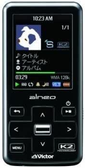 JVC XA-V80-B 8GBデジタルオーディオプレーヤー ブラック