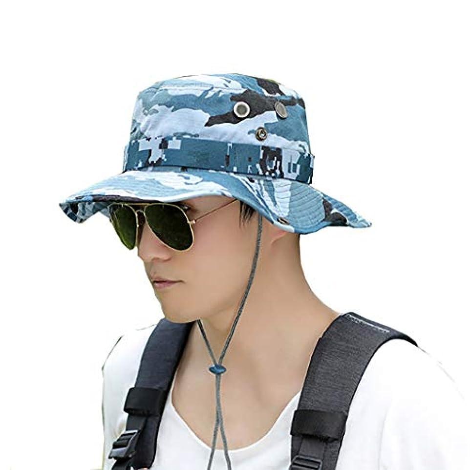 勝者コンクリート人事登山キャップ屋外帽子男性夏漁師帽子バイザーUV保護日焼け防止キャップ釣りキャップ (Color : A)