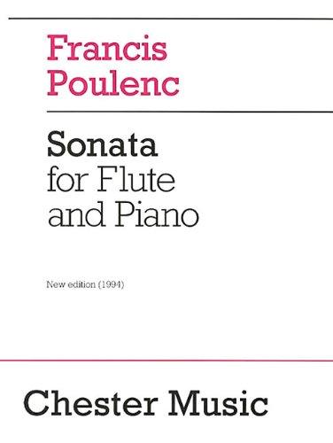 Poulenc Sonata for Flute and Piano