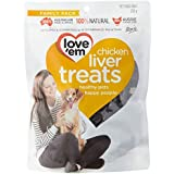 love'em Chicken Liver Treats 200g, 1 Pack