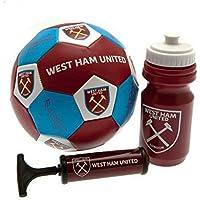 ウェストハム?ユナイテッド フットボールクラブ West Ham United FC オフィシャル商品 ギフトセット (サッカーボール?空気入れ?ドリンクボトル)